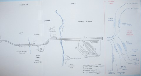 Layout Schematic - East End
